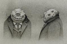 Germ+28.jpg (681×450) #monsters #illustration