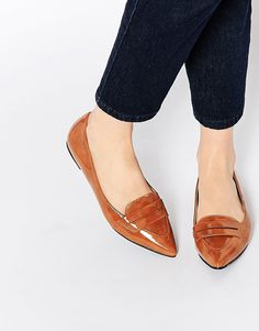 New Look Pointed Flat Loafer
