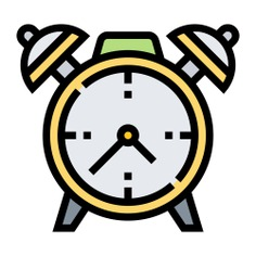 See more icon inspiration related to clock, time, time and date, Tools and utensils, alarm clock and timer on Flaticon.