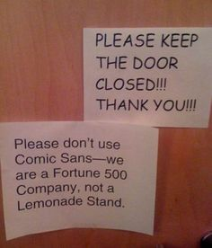 not-a-lemon-stand.jpg (500×585) #comic sans