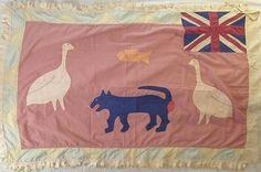 Fante_Asafo_Flag_12.jpg 550×366 pixels #flag #illustration #drawing #textile