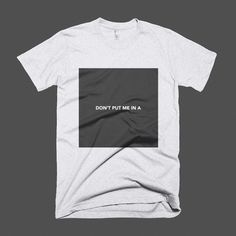 One of the newest #tees available in the teyleen.com shop. #tshirt #fashion #bold #typography #minmal #design