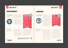 Event Guide on Behance #brochure