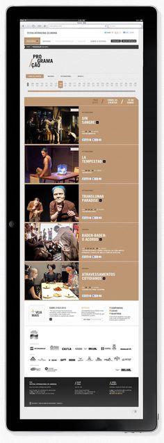 Filo Festival 2012   Londrina #design #interface #ui #clean #web