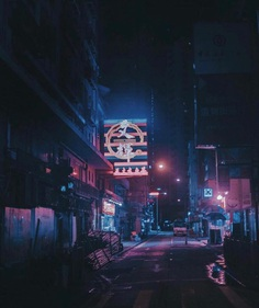 Cyberpunk Asia: Moody Street Photography by Adalberto Correale