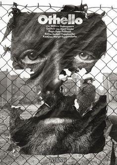 It's Nice That : Gunter Rambow #othello #poster
