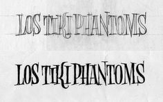 tiki+bocetos.jpg 1280×800 píxeles #music #lettering #ivan #castro