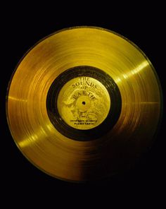 The Sounds of Earth - GPN-2000-001976 - Voyager Golden Record - Wikipedia, the free encyclopedia #space #record #earth #vinyl #gold #usa