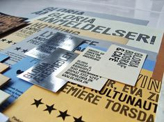 ANDREAS JOHANSEN #print #design #graphic #identity