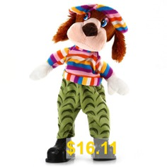 15 #inch #Dog #Shape #Plush #Toy #Musical #Shivering #Head #Baby #Stuffed #Doll #- #COLORMIX