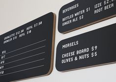 Loveland Aleworks — Manual #menu #sign #signage