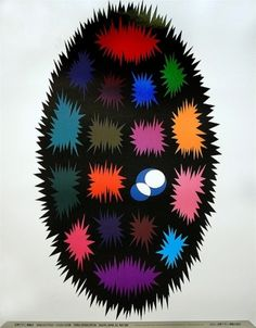 Japanese Poster: World Design Expo. Shigeo Fukuda.... | Gurafiku: Japanese Graphic Design #poster