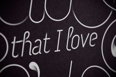 I Hate That I Love You so Much on the Behance Network #type #illusion #shadows