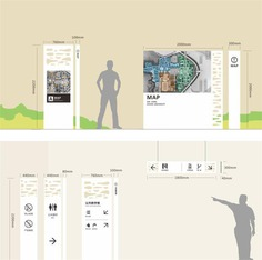 Wayfinding | Signage | Sign | Design | 简约导视牌