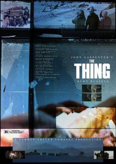 JOHN CARPENTER'S #midnight #poster #thing
