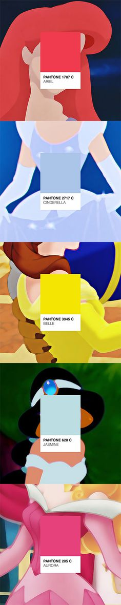 Disney Princesses Pantone®