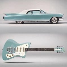 myfeedly: (via Marca dinamarquesa lança guitarras inspiradas em carros...