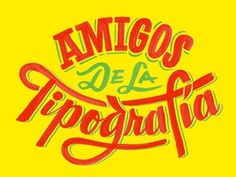 Dribbble - Tipografia Fiesta by Friends of Type #type #illustration #typography