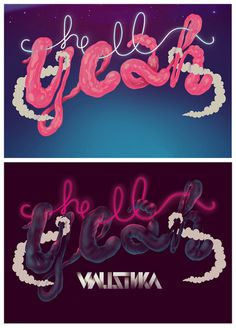 Hell Yeah by Valistika Studio BCN #design #graphic #quality #typography