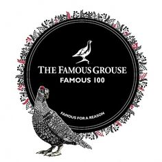 The Famous Grouse, The Famous 30 | Johanna Basford #blackwhite #penink #illustration #johanna #basford