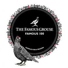 The Famous Grouse, The Famous 30 | Johanna Basford #blackwhite #penink #illustration #johanna #basford