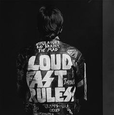 loud fast rules #punk #fashion #art