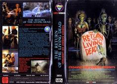 Return Of The Living Dead (VHS Box Art)