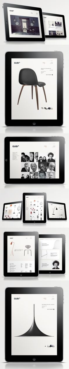 GUBI | Designer: Jacob Ravn #web