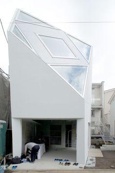 House Setagaya by Atelier Azusa Ishii #design #japanese #architecture #minimal