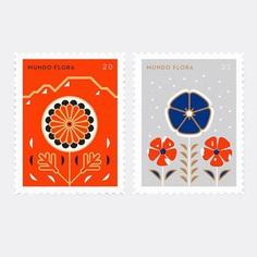 Mundo Flora update . . . #flora #stamps #flower #design #draw #igersuruguay #ilustracion #illustration #estampillas #postal #vsco #vscocam #nature
