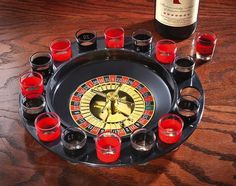 Maxam Shot Glass Roulette Drinking Game Set #game #home