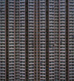 Architecture Of Density by Michael Wolf #inspiration #photography #architecture