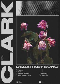 Clark - Tour Poster - Darren Oorloff