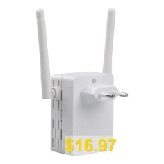 300Mbps #Wifi #Repeater #Wireless-N #Range #Extender #Signal #Booster #Network #Router #- #WHITEM