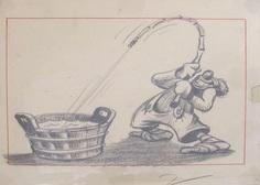 disney dumbo clown concept art
