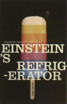 Penguin Books - Einstein's Refrigerator #covers