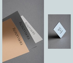 Habit Restaurant Identity - Mindsparkle Mag Boy Creative Studio designed the identity for Habit – a restaurant in Vilnius. They worked on the whole branding and identity system, including the design of stationary and icons. #logo #packaging #identity #branding #design #color #photography #graphic #design #gallery #blog #project #mindsparkle #mag #beautiful #portfolio #designer