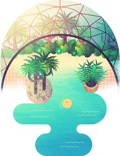 Center Parcs illustration