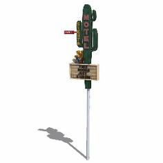 Signage | Sign Design | Wayfinding | Wayfinding signage | Signage design | 导视牌 沙漠 汽车旅馆 酒店 指示牌 环艺
