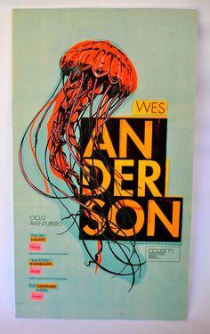Ciclo de Cine: Wes anderson http://www.behance.net/gallery/Ciclo-de-Cine-Wes-anderson/6118733 #wes #anderson