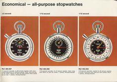 Heuer Catalog #clock #retro #stopwatches #heuer