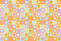 De Paula - Visual Identity on the Behance Network #candy #identity #cupcake #pattern