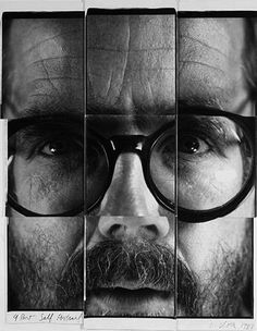 Chuck Close, Self Portrait. 1982.