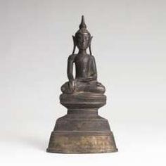 Bronze-Figur des Buddha Shakyamuni