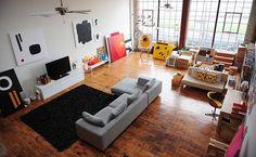 Jared Erickson | Because I Can #art #apartment #loft