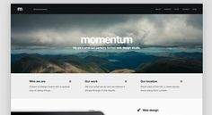The Best Designs / Best Web Design Awards & CSS Gallery » Momentum