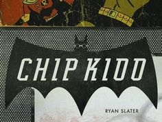 Dribbble - Chip Kidd Book cover 2 by ryan slater #kidd #design #chip