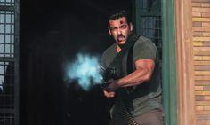 Salman Khan Machine Gun Tiger Zinda Hai Wallpaper Download Free – WallpapersBae
