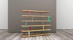 SHLF #design #interiors #colors #shelf #pastel