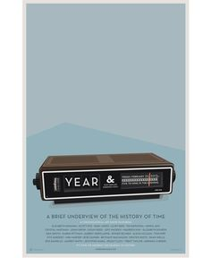 "Poster for ""Year"" show at Studio & #creative #vector #year #& #cabbage #studiio #poster #alarm #clock"